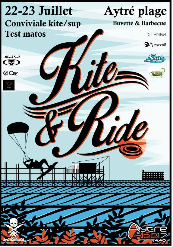 affiche kite and ride 2017