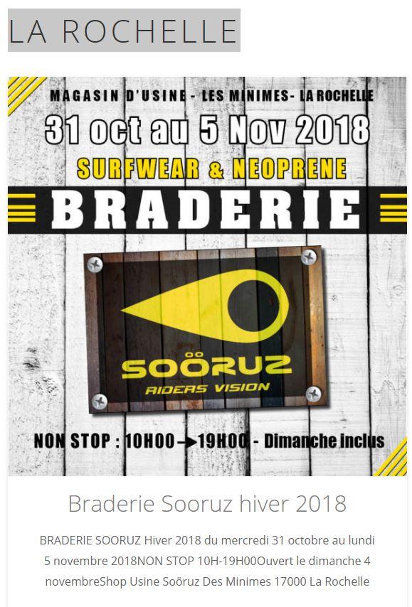 SORUZ SOLDE HIVER 2018